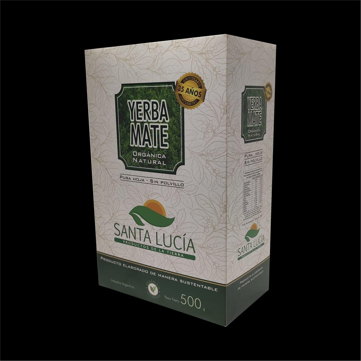 Packaging  Yerba Mate Santa Lucia