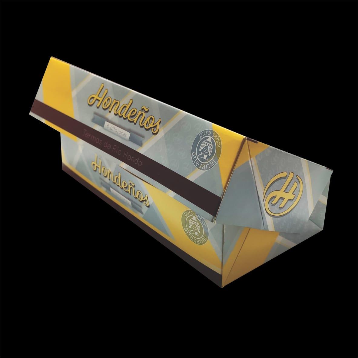 Packaging  Hondeños Alfajores